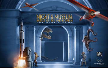 обоя night, at, the, museum, видео, игры, battle, of, smithsonian