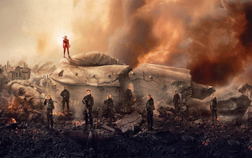 Картинка кино+фильмы the+hunger+games +mockingjay+-+part+2 фантастика боевик драма the hunger games mockingjay - part 2