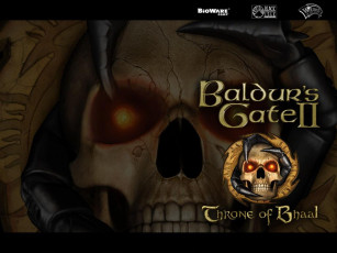 обоя видео, игры, baldur`s, gate, ii, throne, of, bhaal