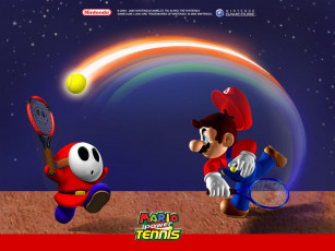 Картинка mario power tennis видео игры