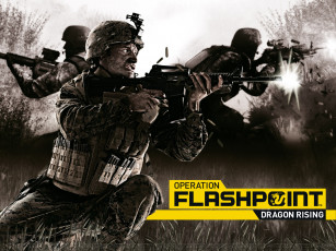 Картинка operation flashpoint dragon rising видео игры