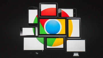 обоя компьютеры, google,  google chrome, фон, логотип