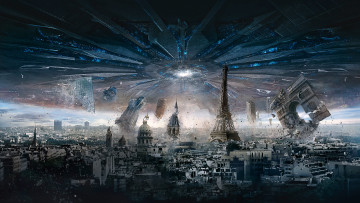 обоя кино фильмы, independence day,  resurgence, resurgence, independence, day, paris