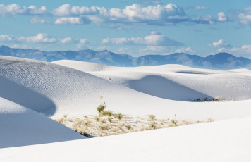 Картинка white+sands+new+mexico природа пустыни песок пейзаж white sands new mexico пустыня