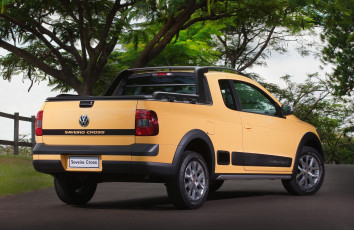 обоя volkswagen saveiro cross 2013, автомобили, volkswagen, saveiro, cross, 2013