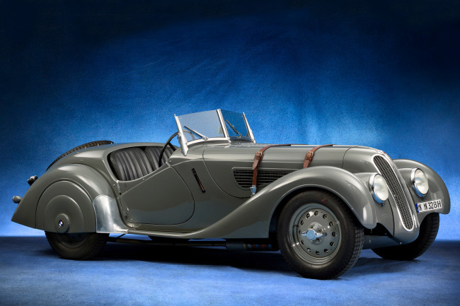 Обои картинки фото frazer nash bmw 328 roadster 1937, автомобили, классика, 1937, bmw, 328, roadster, nash, frazer