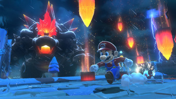 обоя super mario 3d world   bowser's fury, видео игры, super mario 3d world, super, mario, 3d, world, bowsers, fury