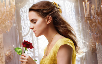 обоя кино фильмы, beauty and the beast, emma, watson, disney