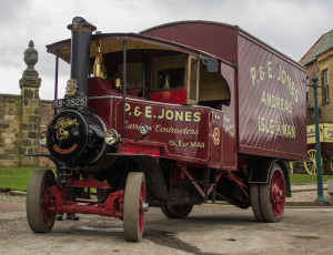 обоя 1931 foden steam wagon lady catherine, автомобили, foden, паровой, автомобиль