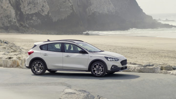 Картинка ford+focus+active+2019 автомобили ford 2019 focus active белый