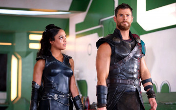обоя кино фильмы, thor,  ragnar&, 246, chris, hemsworth, tessa, thompson