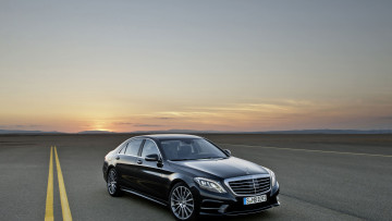 Картинка автомобили mercedes benz mercedes-benz s-class sedan