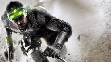 обоя tom, clancy`s, splinter, cell, blacklist, видео, игры, агент, пистолет, нож, шпион