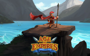 обоя age of empires, online, видео игры, - age of empires online, персонаж