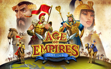 обоя age of empires, online, видео игры, - age of empires online, персонажи