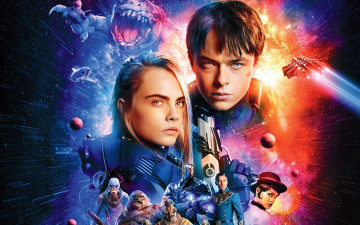 обоя кино фильмы, valerian and the city of a thousand planets, valerian, and, the, city, of, a, thousand, planets