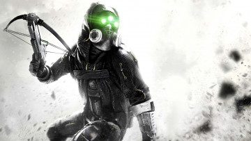 обоя tom, clancy`s, splinter, cell, blacklist, видео, игры, арбалет