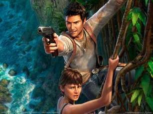 обоя uncharted, drakes, fortune, видео, игры, drake`s