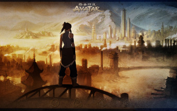 обоя the, last, airbender, legend, of, korra, аниме