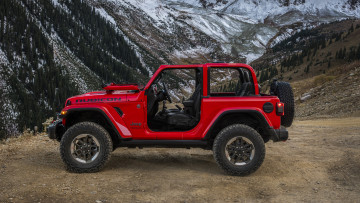 обоя jeep wrangler rubicon 2018, автомобили, jeep, 2018, rubicon, wrangler