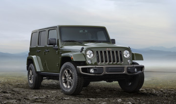 обоя jeep wrangler unlimited 75th anniversary edition 2016, автомобили, jeep, edition, anniversary, 75th, unlimited, wrangler, 2016
