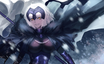 Картинка аниме fate stay+night jeanne alter