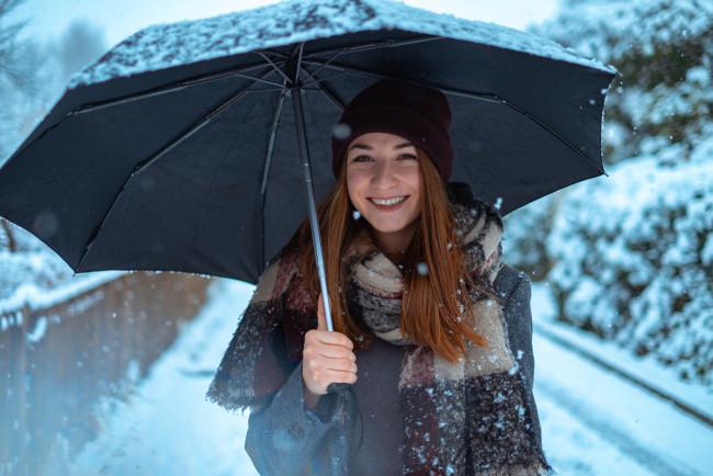 Janice With An Umbrella Laidhub 1