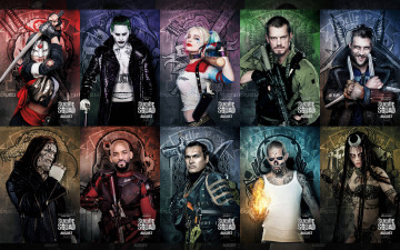 обоя кино фильмы, suicide squad, slipknot, will, smith, adam, beach, katana, suicide, squad, harley, quinn, joel, kinnaman, jared, leto, cara, delevingne, joker, karen, fukuhara, deadshot, captain, boomerang, killer, croc, movie, margot, robbie, rick, flag, jai, courtney, отряд, самоубийц