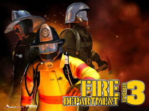 обоя fire, department, видео, игры