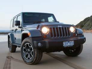 Картинка автомобили jeep unlimited wrangler jk 2013г au-spec anniversary 10th rubicon