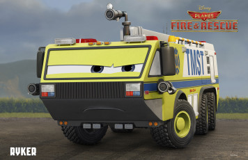 Картинка planes +fire+&+rescue мультфильмы +fire+and+rescue авто