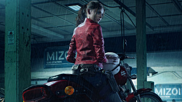 обоя resident evil 2 , 2019, видео игры, survival, horror, resident, evil, 2, ремейк, games, claire, redfield