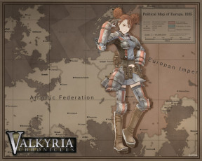 Картинка valkyria chronicles видео игры