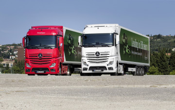 Картинка автомобили mercedes+trucks mp4 actros mercedes-benz