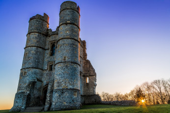 обоя donnington castle, города, замки англии, простор