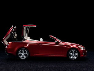 Картинка 2009 lexus is 250c folding hardtop автомобили