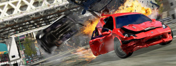обоя burnout, takedown, видео, игры, 3,