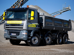 Картинка автомобили daf 2006г tipper cab day fad 8x4 cf85-410