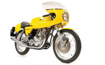 обоя мотоциклы, norton, yellow, ducati