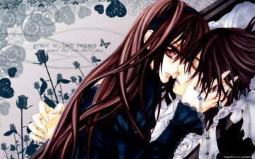 Картинка you only my аниме vampire knight