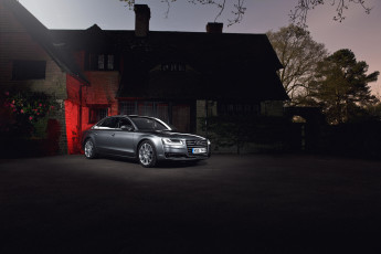 Картинка автомобили audi a8 l uk-spec quattro 4-0t 2014г