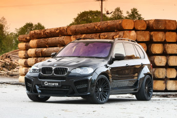 Картинка 2010 power typhoon black pearl based on bmw x5 e70 автомобили