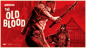 обоя wolfenstein,  the old blood, видео игры, шутер, action, the, old, blood