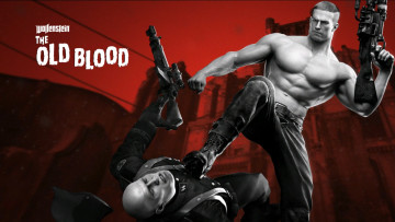 обоя wolfenstein,  the old blood, видео игры, the, old, blood, шутер, action