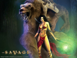 обоя savage, the, battle, for, newerth, видео, игры