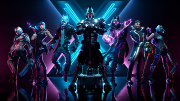Картинка fortnite видео+игры epic games 2019 season x постер