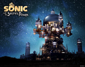 Картинка sonic and the secret rings видео игры