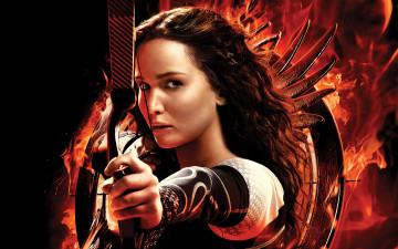 обоя the, hunger, games, catching, fire, кино, фильмы, jennifer, lawrence