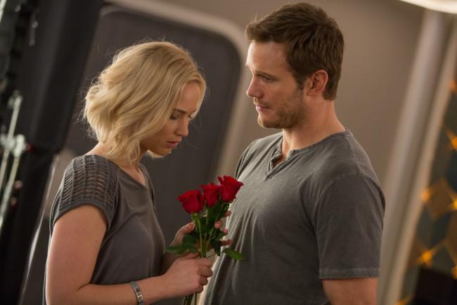 обои Passengers кино фильмы Chris Pratt Jennifer