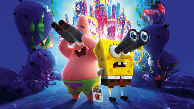 Обои картинки фото мультфильмы, the spongebob movie,  sponge on the run, the, spongebob, movie, sponge, on, run